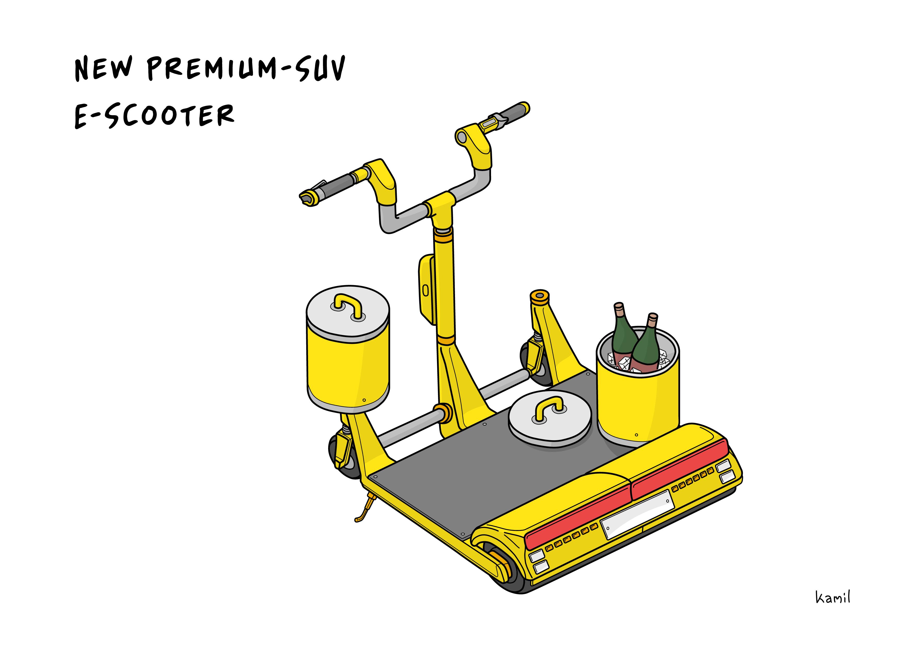 new premium-suv e-scooter