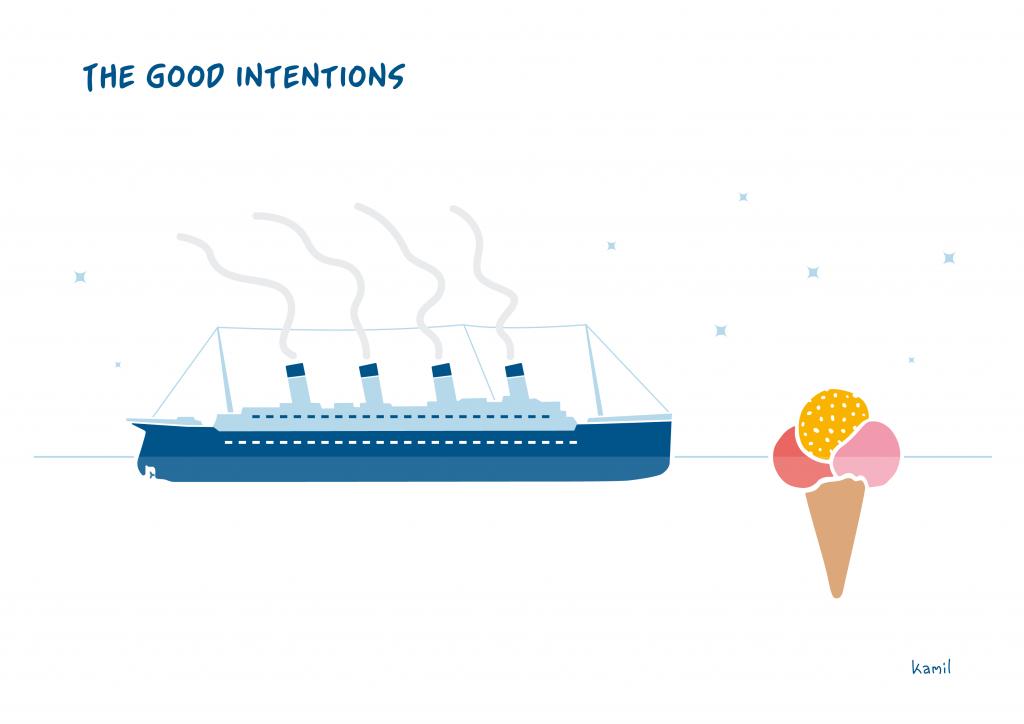 Cartoons – Weekly Cartoon No 11 – The good intentions